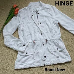 🆕 HINGE Drapey Military Jacket